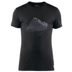FjallRaven Keb Wool T-Shirt Print herenshirt