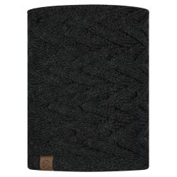 Buff Knitted & Fleece Nekwarmer Caryn Graphite