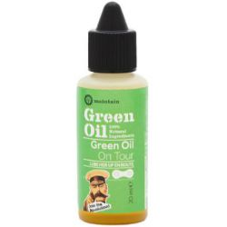 Green Oil Chain Lube on tour
